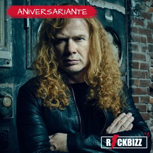Happy Birthday, Dave Mustaine!