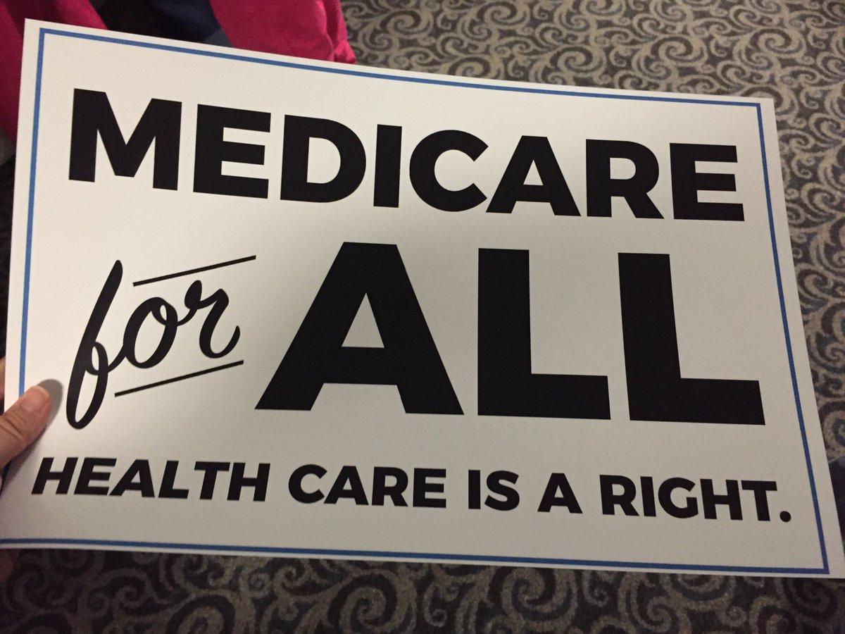 RT @el_gringo_duhal: Bernie Sanders reminds us grassroots pressure not politicians will get us #MedicareForAll https://t.co/RJGJhmdlC7