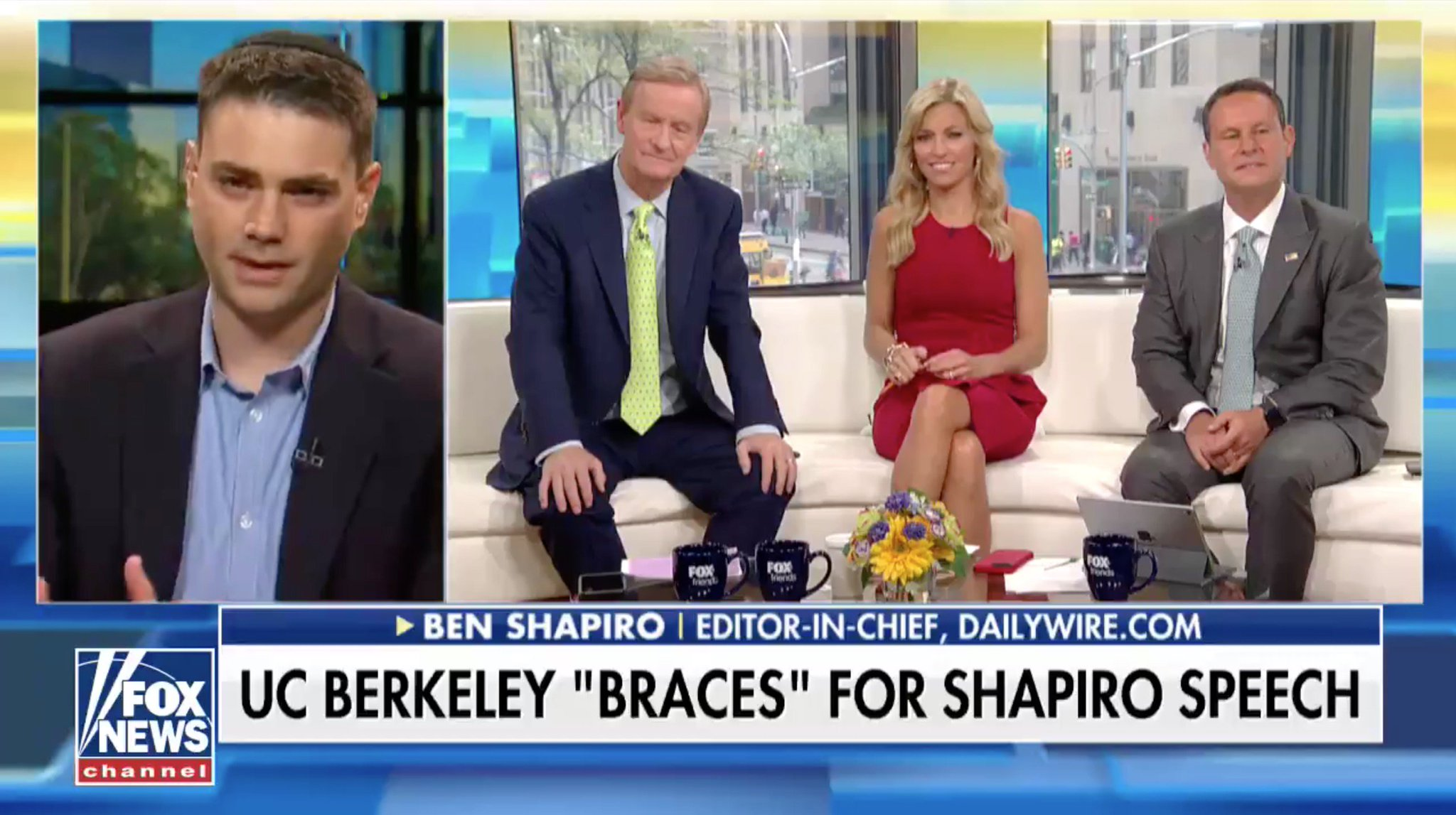 Ben Shapiro Declares The Left Doesn't Listen to Opposing Views…on Fox & Friends https://t.co/8Ja5C80bPl https://t.co/yTmiVZmraq