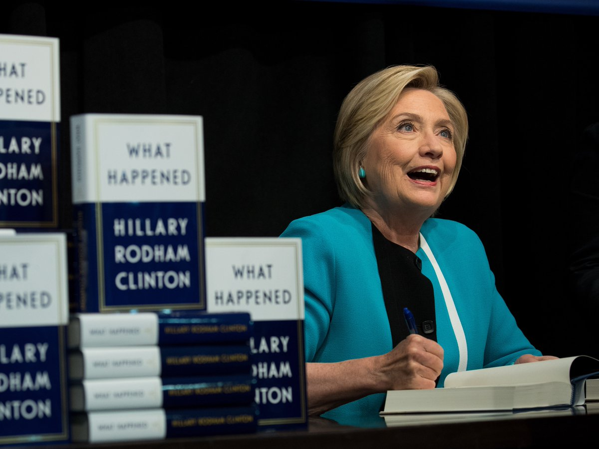 These Amazon reviews of Hillary Clinton's book, What Happened, have to be fake — right?