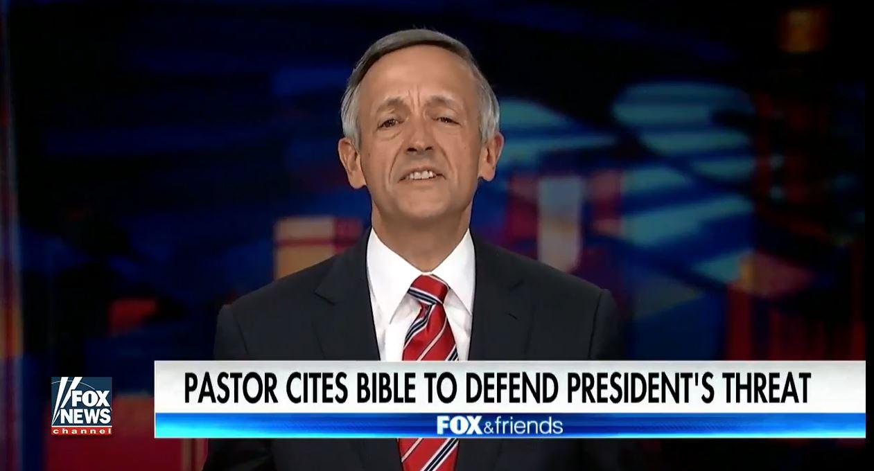 Trump's Evangelical Adviser Endorses Killing DACA: God is Not 'An Open Borders Guy' https://t.co/a3epb5QJYK https://t.co/6tzNpp5acP