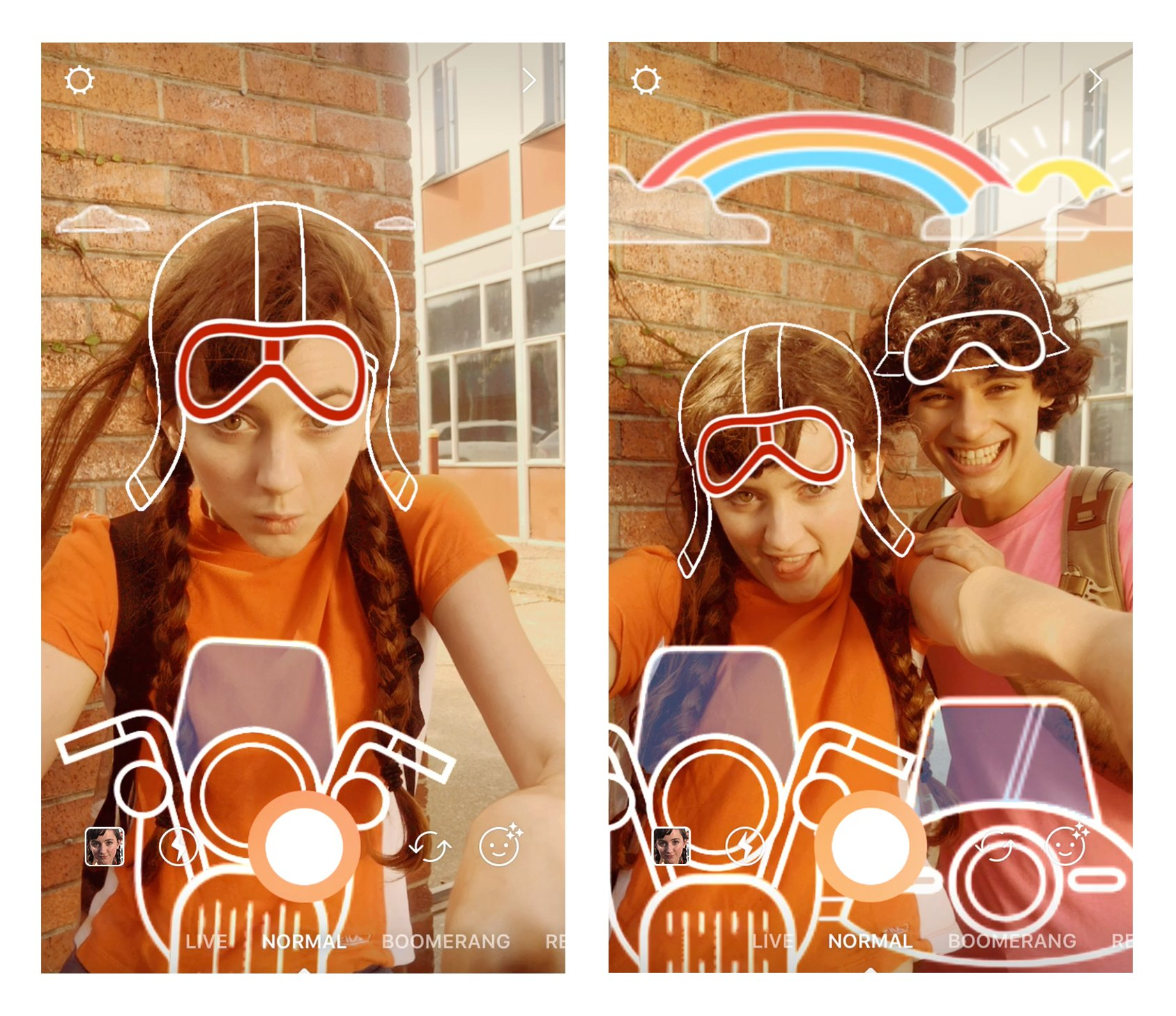 Grab a friend and set out on an adventure with our new face filter! �� �� https://t.co/Ml7wbdAPwj