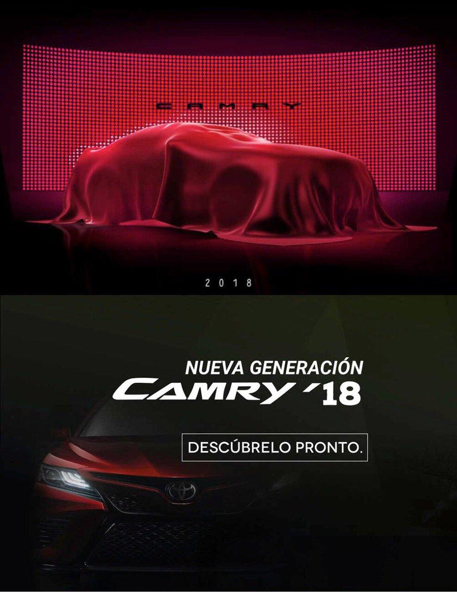 #HoySeMeOcurreQue conozcamos el nuevo #Toyota #CAMRY2018 en tu agencia @Toyota_Cancun https://t.co/tAMIPXaODn