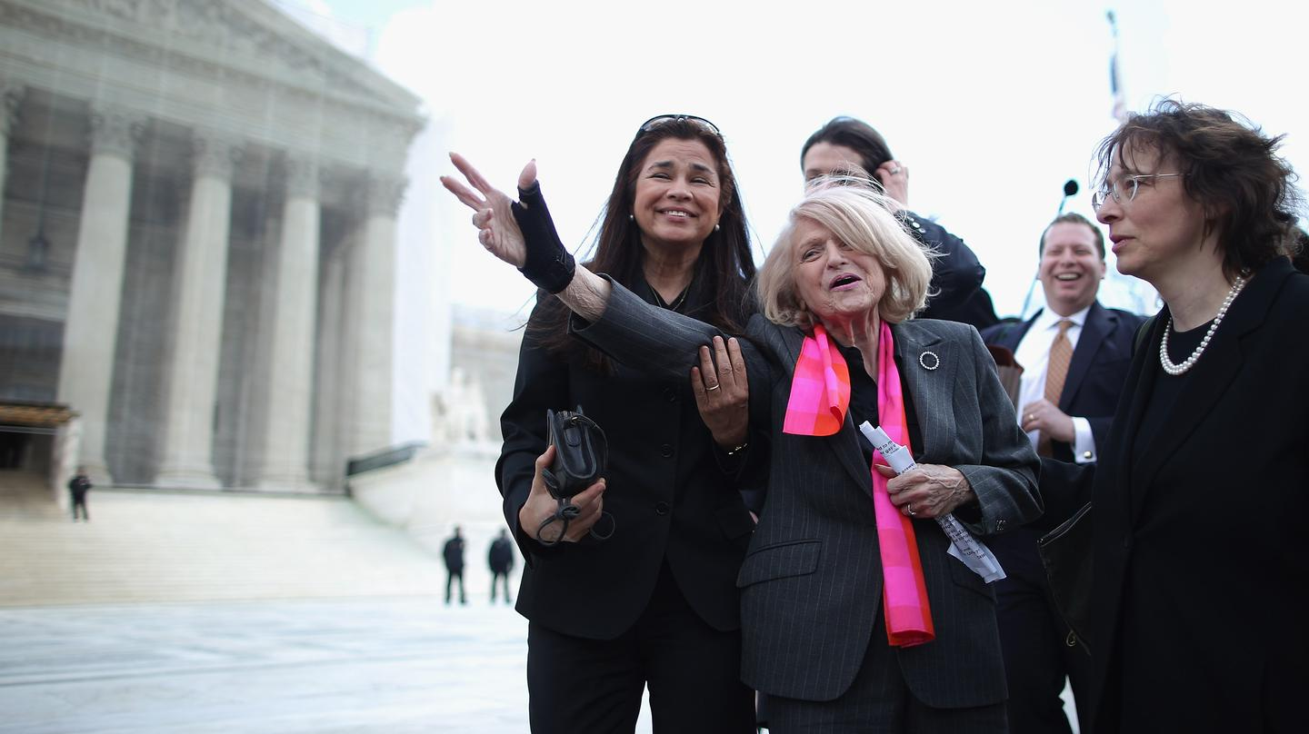 Queer millennials should never forget Edith Windsor's name: https://t.co/CUnyGXMjie https://t.co/Hbf94w3NfQ