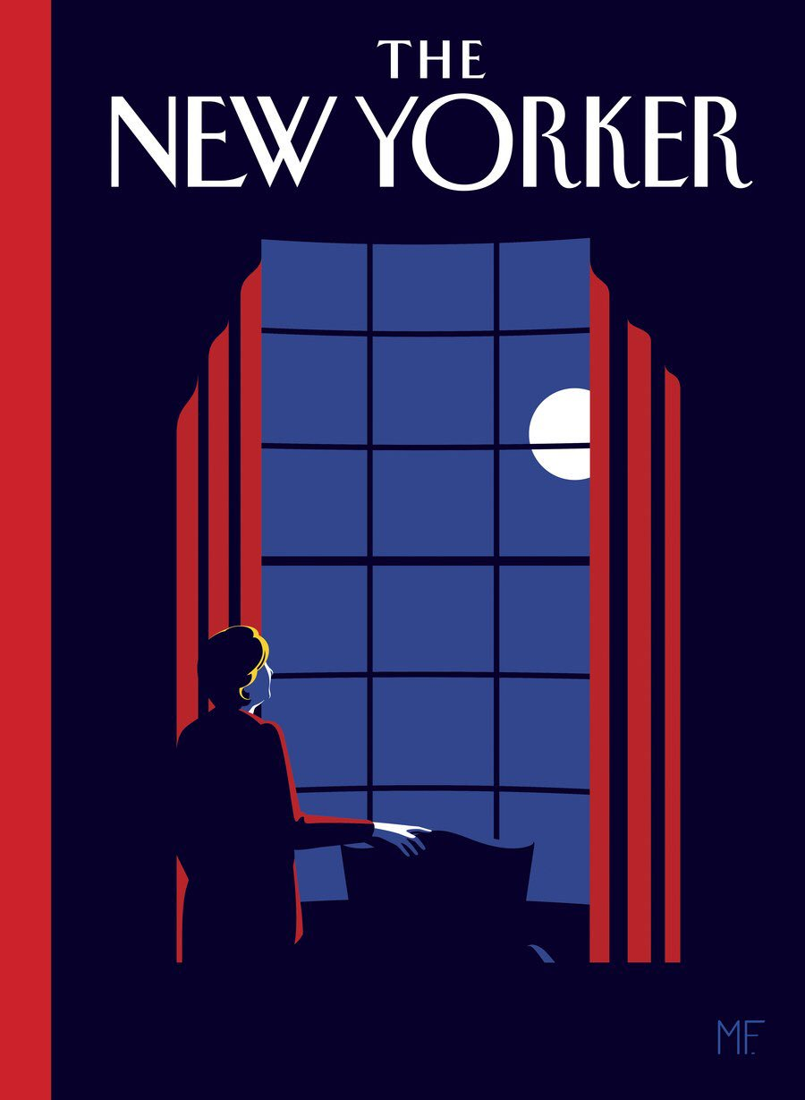.@NewYorker reveals that this is the cover it would have published had Hillary Clinton won https://t.co/RAo2b2cl7t https://t.co/7IWcwhGgLK