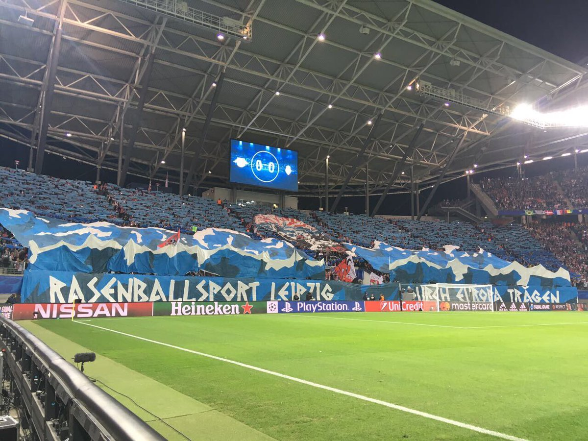 RT @RBLeipzig_EN: This support is definitely @ChampionsLeague worthy 👏👏👏  #ExpeditionEuropa #UCL #RBLASM 0-0 https://t.co/DFcU4gsr3w