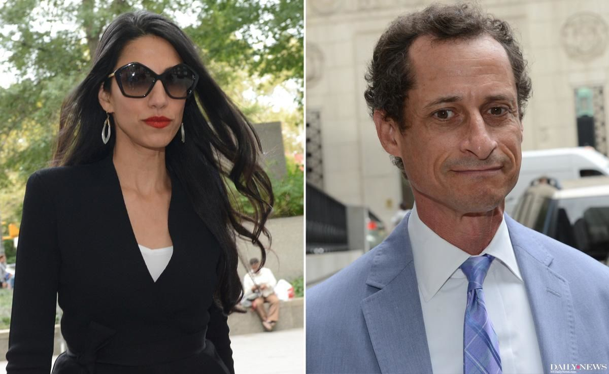 SEE IT: Anthony Weiner, Huma Abedin arrive at court for first divorce hearing https://t.co/JpP0kf6GGC https://t.co/C44C0BCv4b