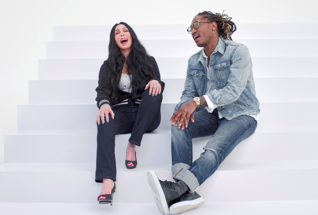 Watch  @1future and @cher star in the Gap's #MeetMeInTheGap ad: https://t.co/BsCZuYfKAH https://t.co/DAINf5LSDB