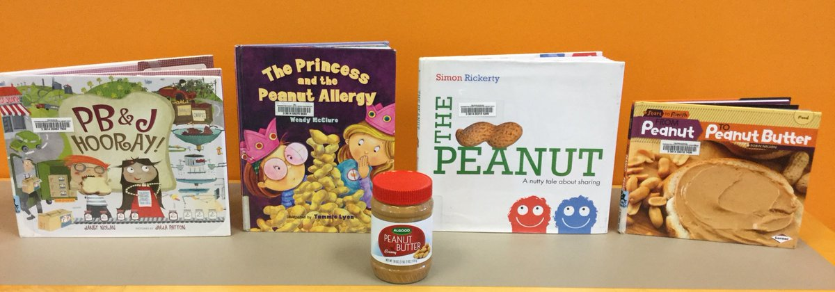 Celebrate #NationalPeanutDay! Of course we have books for that! https://t.co/jQ1RXETrZQ