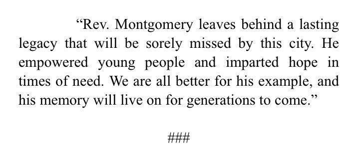 Dwight Montgomery