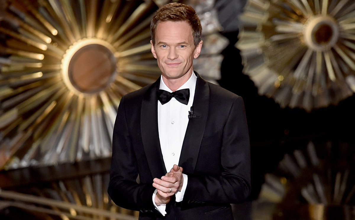 Neil Patrick Harris (@ActuallyNPH) says confidence is the key to hosting success