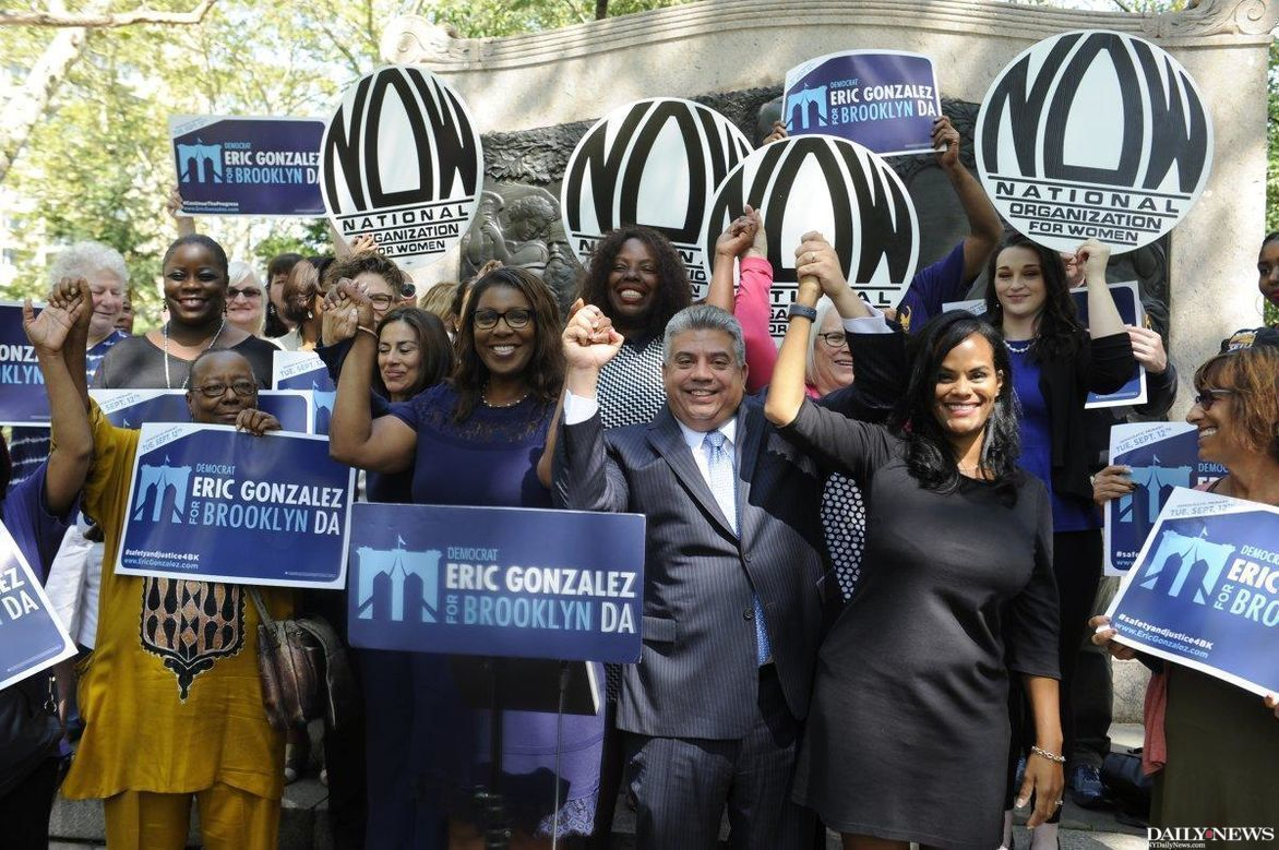 Eric Gonzalez on track to be N.Y.'s first Latino District Attorney after primary victory https://t.co/4wKwKMSaD8 https://t.co/5WgOkHoW7E
