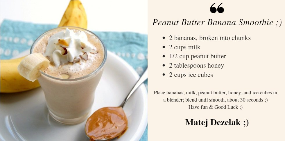 It's #NationalPeanutDay and what's better than a Peanut Butter Banana Smoothie🍌😜🤗😀🌟 https://t.co/5KSAuA92Pn