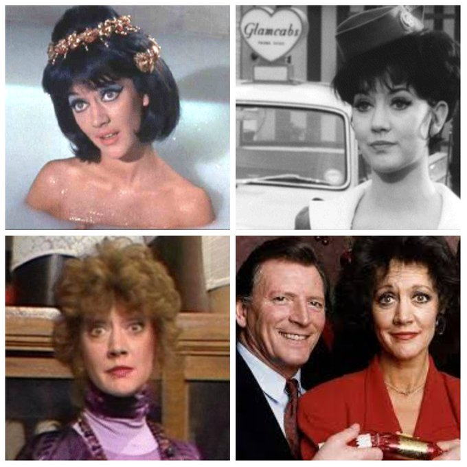 Amanda Barrie is 82 today, Happy Birthday Amanda!