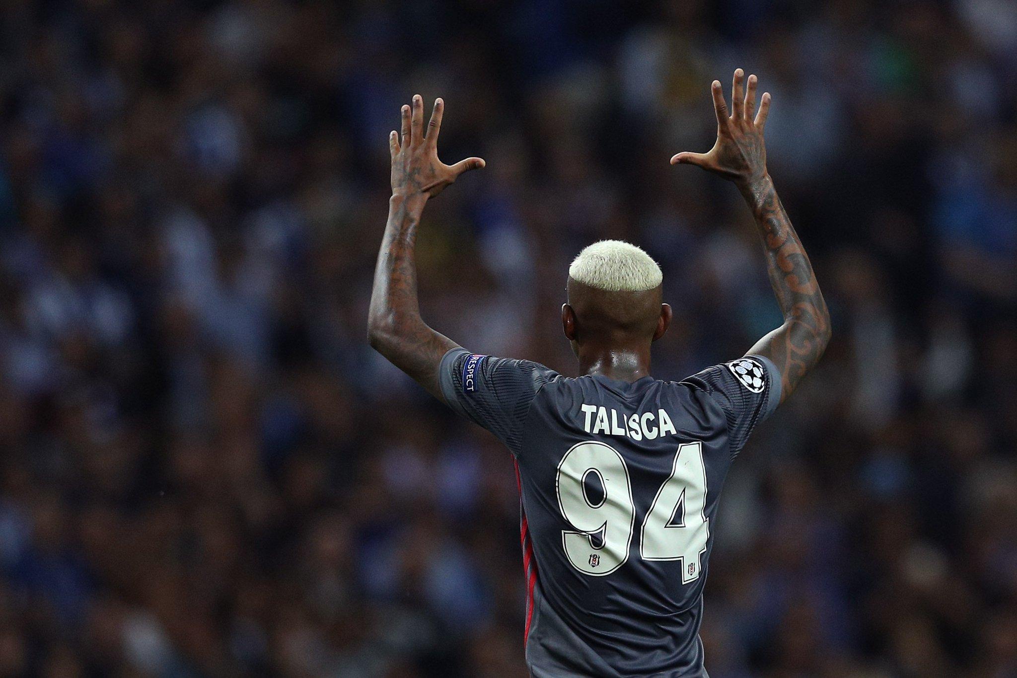 Talisca on target in the #UCL! ��  Best Beşiktaş player tonight? https://t.co/tsdd2XDaI2
