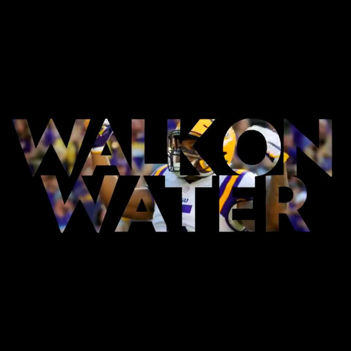 Motivation. Spirit. Teamwork. What drives you? �� #WalkOnWater https://t.co/uO5O8lW1l5