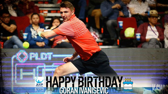 Join us in wishing  Goran Ivanisevic a Happy 46th Birthday! View Profile: