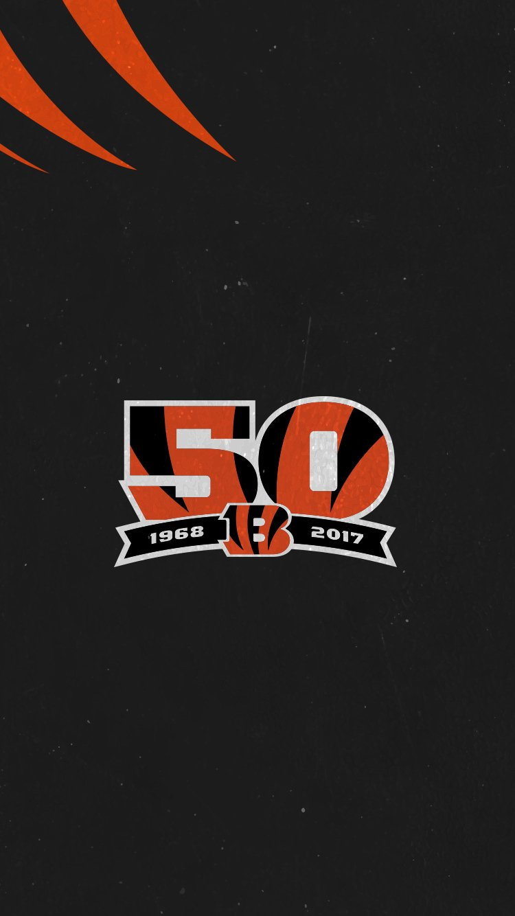 It's a Color Rush #WallpaperWednesday  #Bengals50 https://t.co/BvkfFbGKtA
