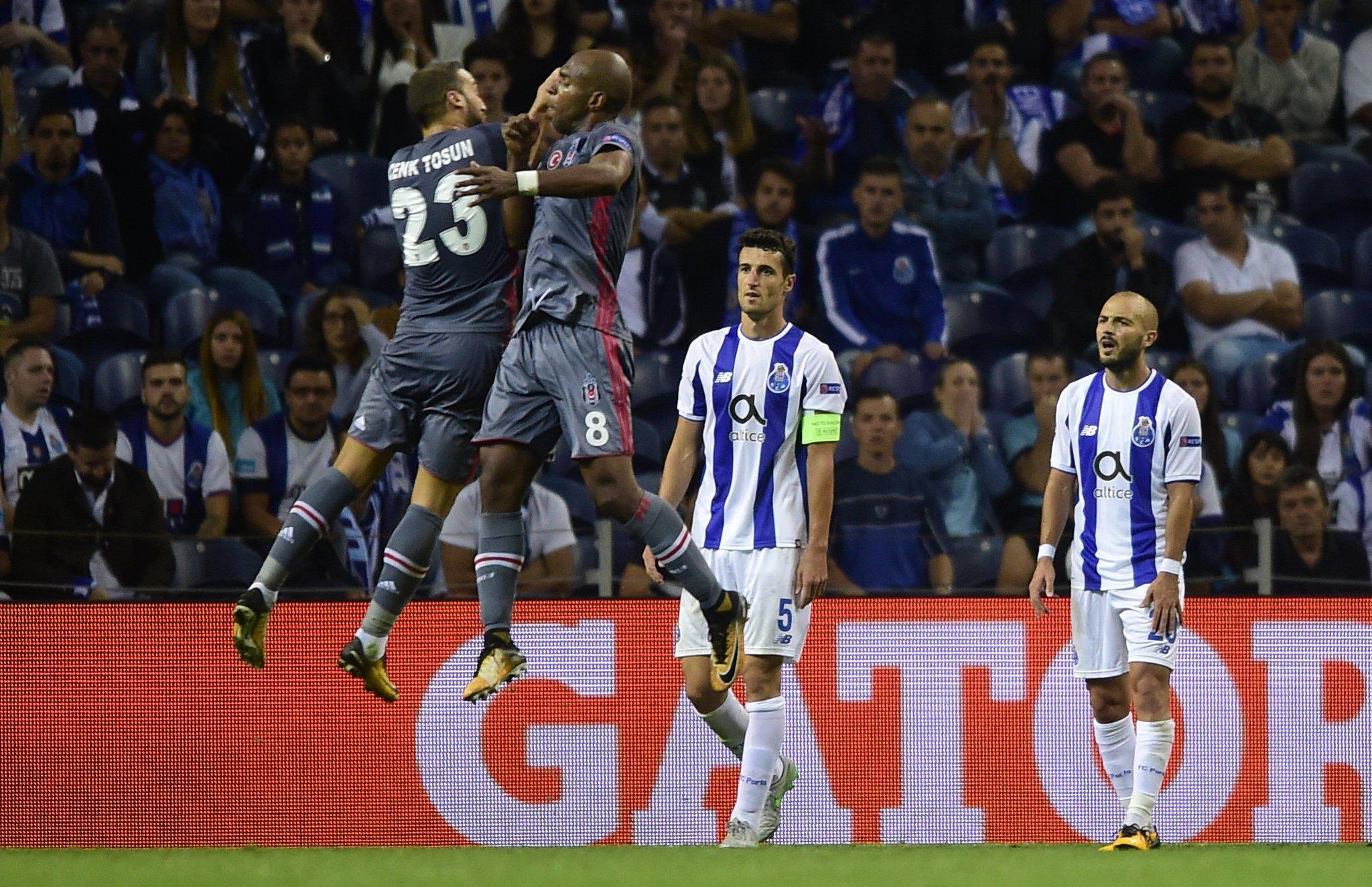 Jumping for joy!  Impressed by Beşiktaş goalscorers Cenk Tosun & Ryan Babel tonight? �� #UCL https://t.co/VkjycDrFiY