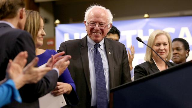NEW: Sanders takes over DC spotlight as he unveils single-payer healthcare plan https://t.co/oc5heSDxh3 https://t.co/6IcqspkfdL