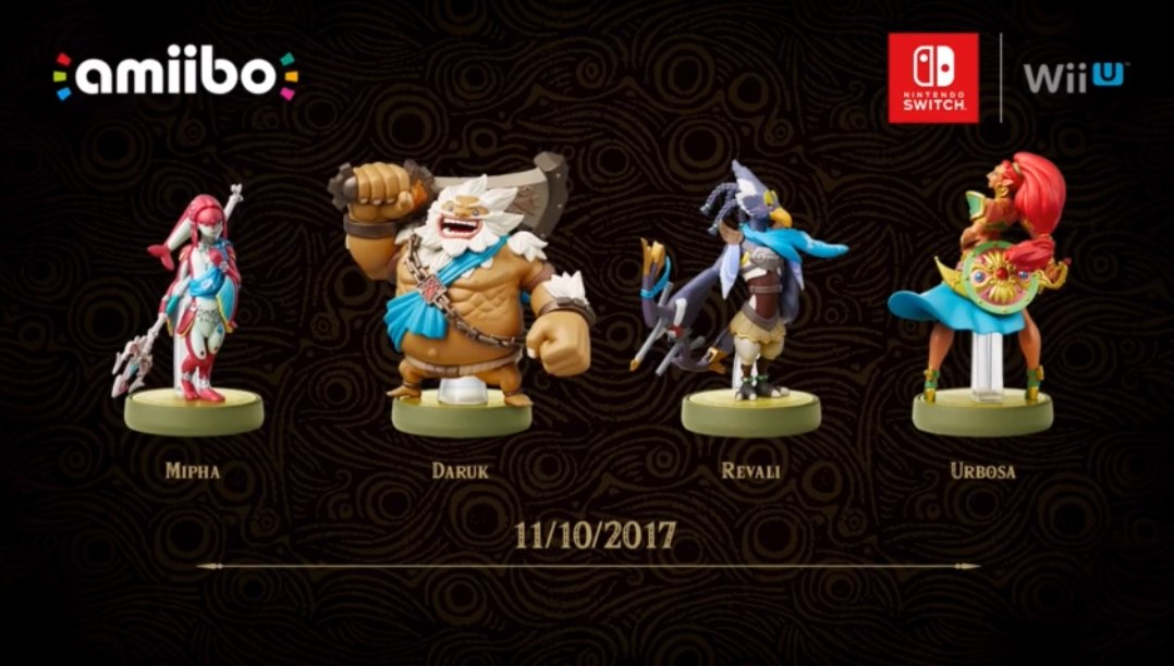 RT @ZeldaUniverse: Champions amiibo will be released on November 10. #NintendoDirect https://t.co/HJ8XYnrRV8