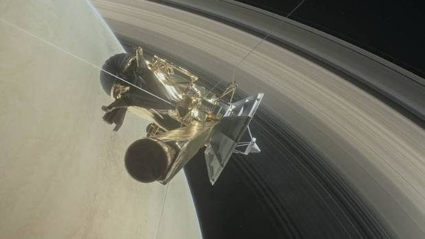 Goodbye Cassini: Saturn spacecraft gets funny opera send-off