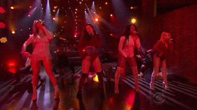 Watch Fifth Harmony perform their single 'He Like That' on #LateLateShow https://t.co/gfHrd9kdRB https://t.co/MarBiF3I9D