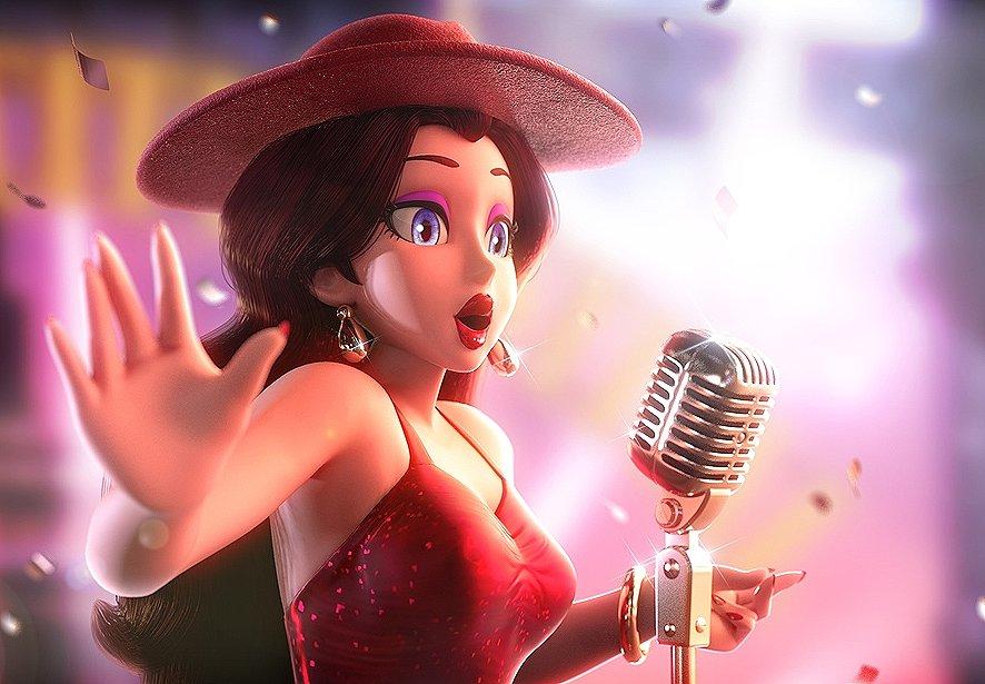 RT @Gustarfox: Lo siento, Peach, mi princesa está en otro concierto. ❤️  #NintendoDirect #SuperMarioOdyssey https://t.co/803DXtACIV