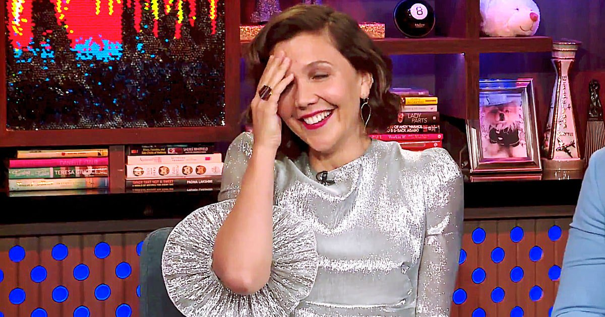 Watch Maggie Gyllenhaal address a rumored Taylor Swift song mention on #WWHL https://t.co/ckAReAVjCf https://t.co/bE13aAgOVT