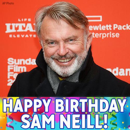 Happy 70th birthday, Sam Neill!
