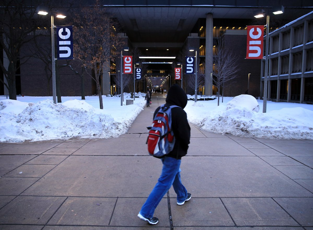 University of Illinois enrollment rises, defying declines at other state campuses