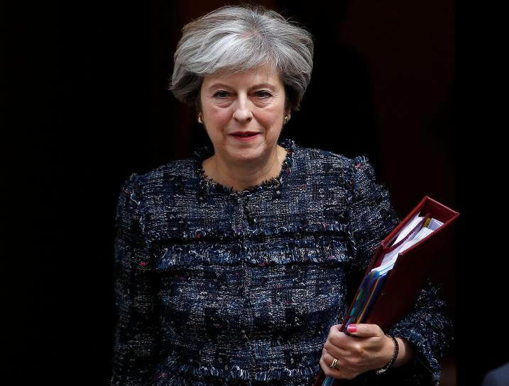 UK PM May to make Brexit speech in Italy on Sept. 22: spokesman