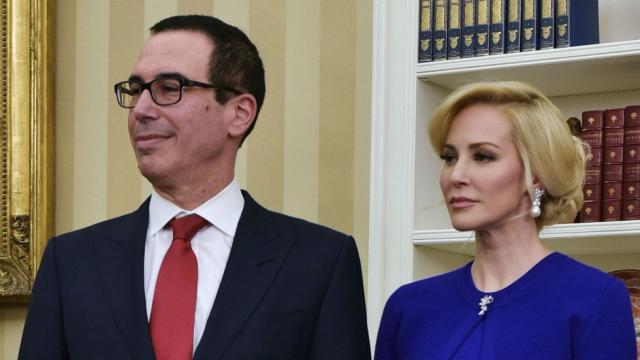 Mnuchin requested government jet for his European honeymoon: report https://t.co/naTJMVObdy https://t.co/DWPASLpJXQ