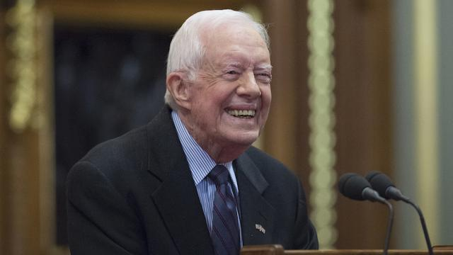 Jimmy Carter offers Trump some advice: 'Tell the truth' https://t.co/YdpYxEfLPH https://t.co/m9dXsydPXy