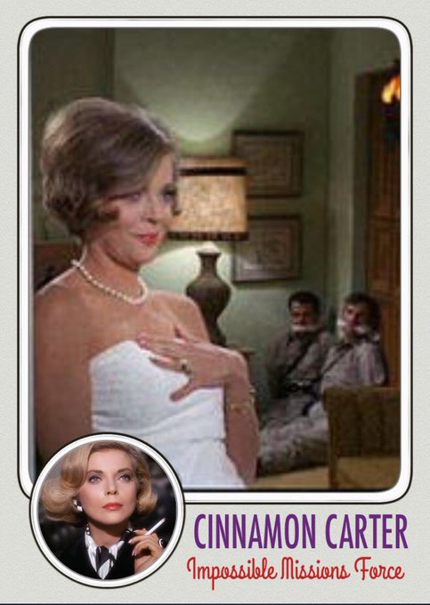 Happy 86th birthday to Barbara Bain. No one can resist Cinnamon Carter.