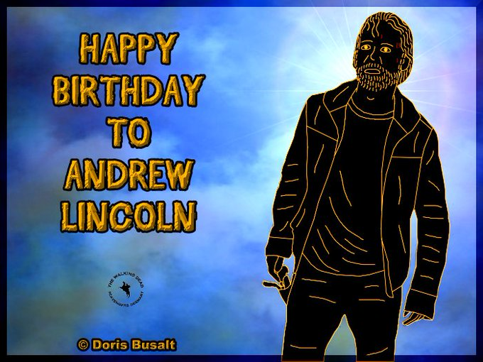09/14 Me and The Walking Dead Scavengers Germany are wishing a happy birthday to Andrew Lincoln!