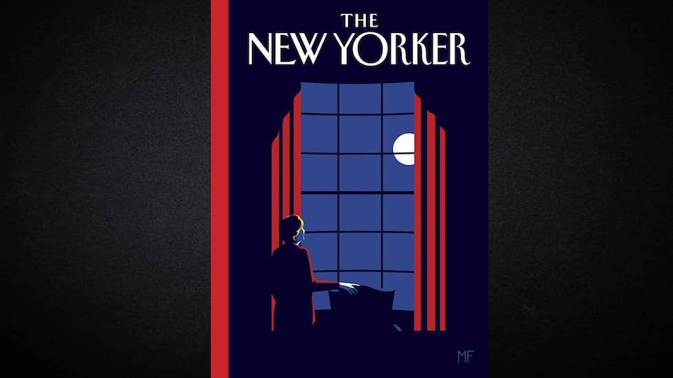 New Yorker unveils cover it would have run if Clinton won https://t.co/i2Qfo11Lao https://t.co/wb44mmPeja