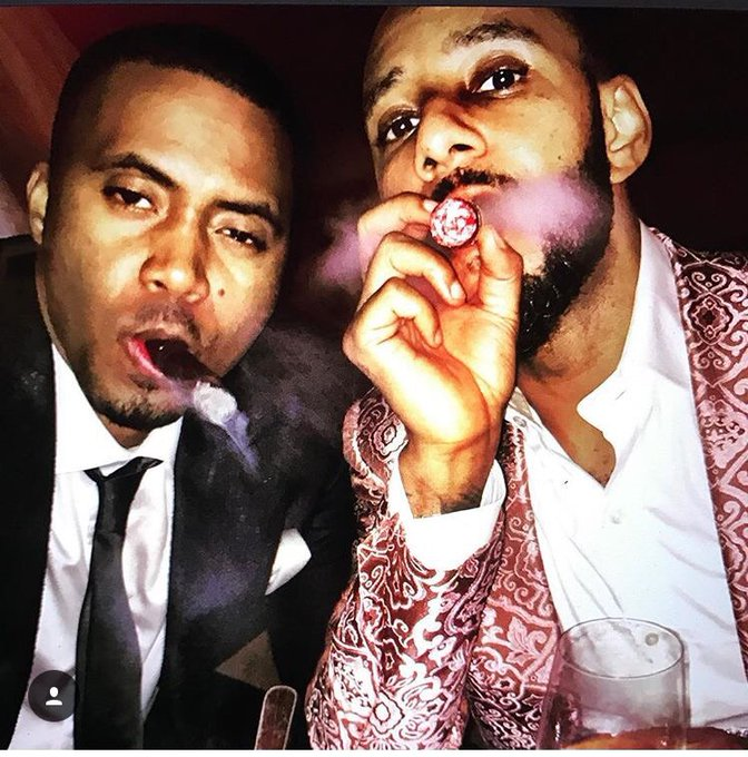 Happy birthday Nas and Swizz