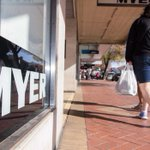 Myer profit tumbles 80pc on falling sales and write-downs
