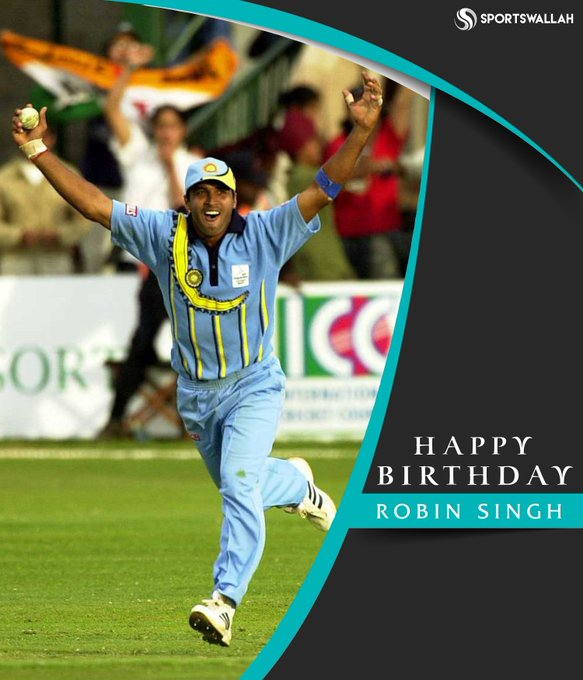 Happy 54th birthday, Robin Singh!