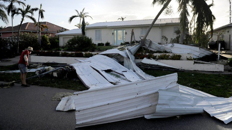 """It was a badass hurricane."" Four harrowing tales of storm survival"