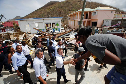US Virgin Islands getting aid, but still reeling from Irma