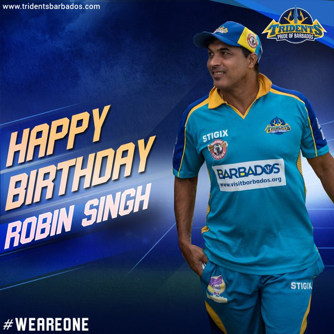 Join us in wishing our  Coach Robin Singh a very Happy Birthday!