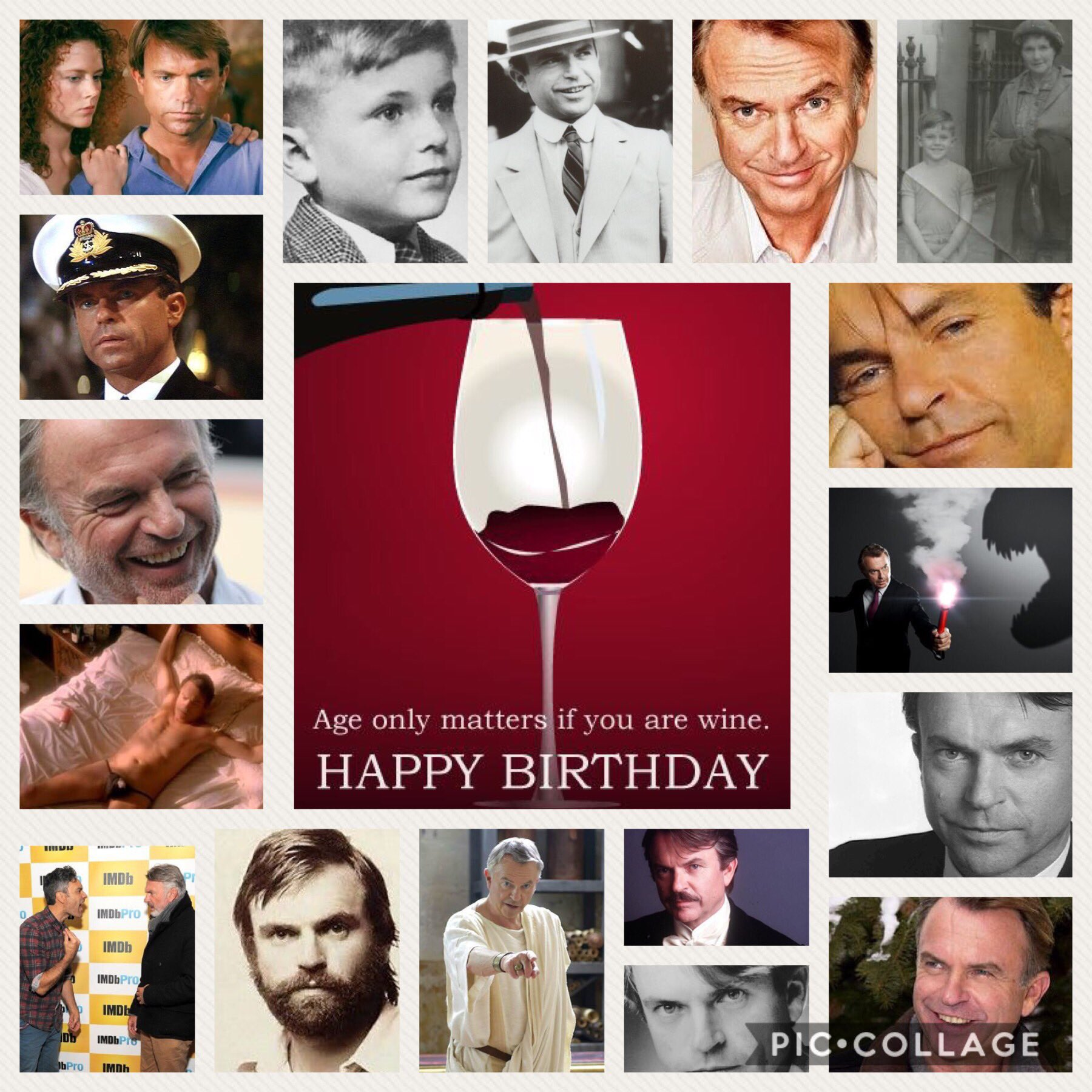 Happy Birthday Sam Neill