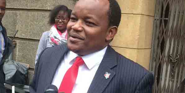 MP Ngunjiri Wambugu asks JSC to fire CJ David Maraga