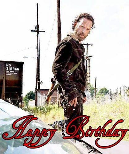 Happy Birthday to Andrew Lincoln!