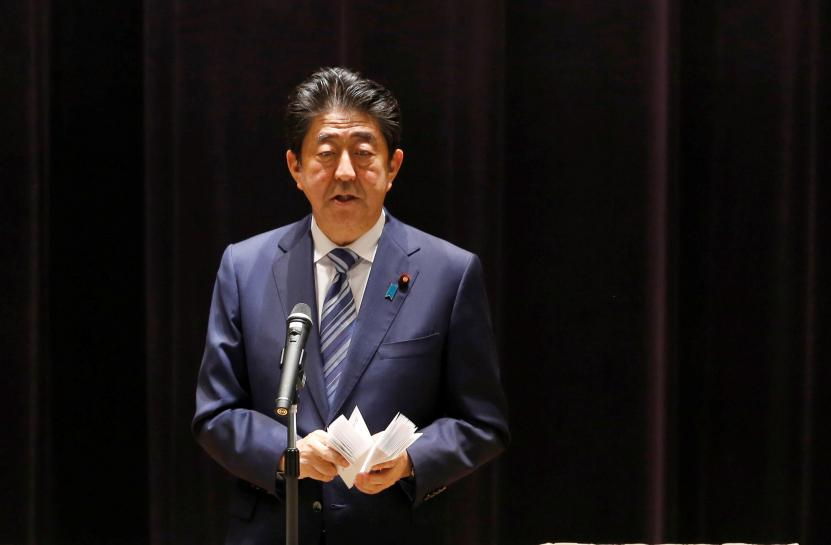 Japan's Abe says U.N. resolution must force change in North Korea https://t.co/fS1aGFUh0E https://t.co/jdDVn5P3ym