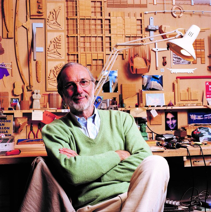 Happy 80th Birthday to The Shard architect, Renzo Piano.