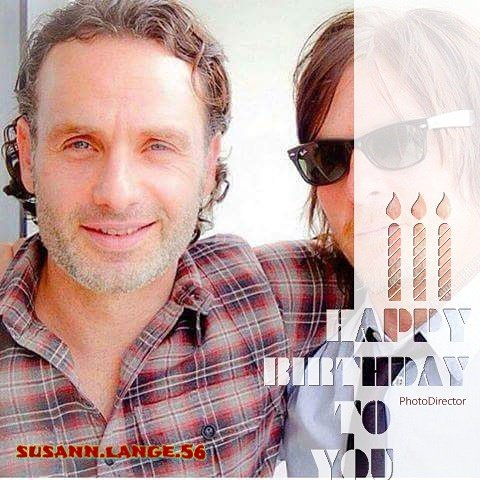 Happy birthday Andrew Lincoln