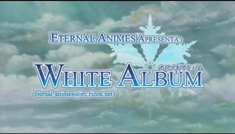 WHITE ALBUM全26話見終わった♪( ´▽`)POWDER SNOW、SOUND OF DESTINY、ガラスの